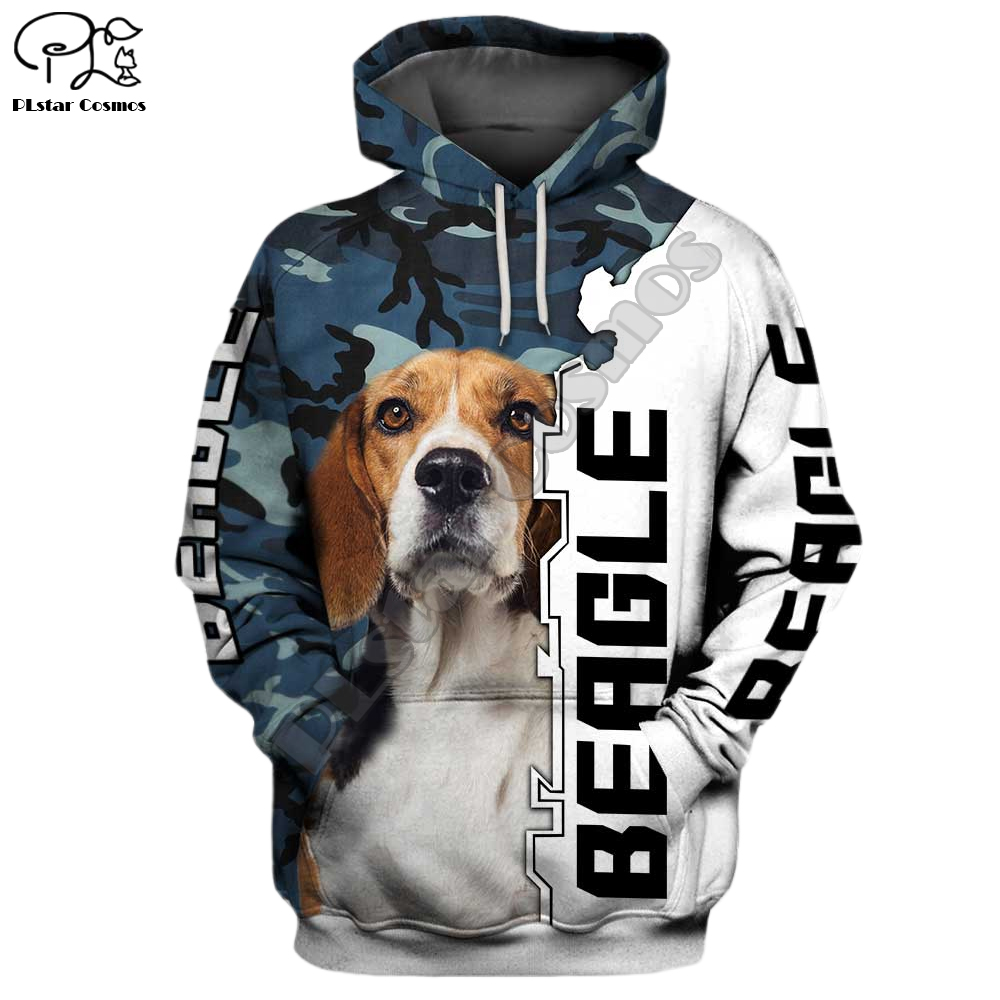 New Mens Funny Beagle Dogs 3d Print Hoodies Autumn Long Sleeve Sweatshirts Women Pullover Tracksuit Hoody Spring Outwear