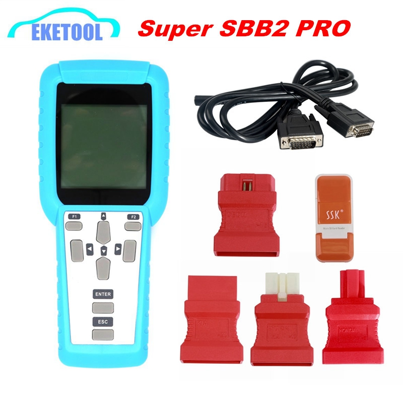 SBB2 Key Programmer SBB3 PRO3 Handheld Scanner Powerful Function Than Old SBB/CK100 Supports Multi-Brand Cars SBB2 Super