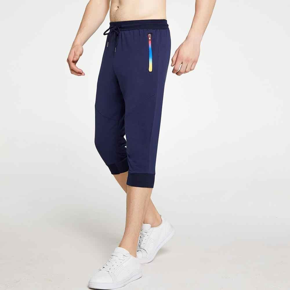 Szorty na lato mężczyźni biegaczy 2020 męskie spodnie dresowe wypoczynek męskie spodnie marki szorty w paski męskie bermudy Casual Board krótkie spodnie