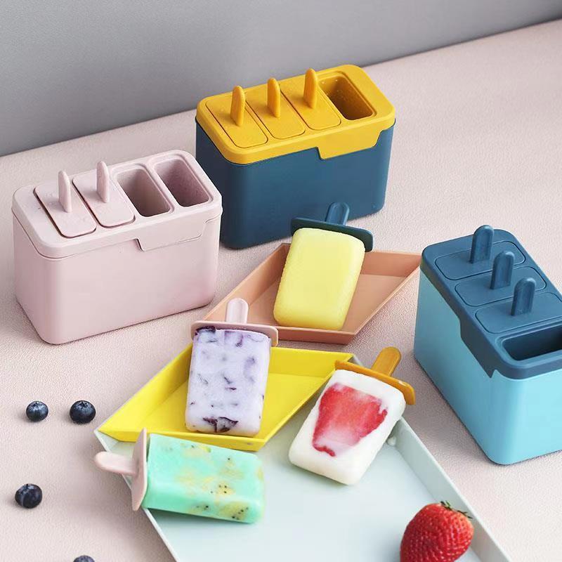 Crème glacée bricolage crème glacée fabricants de magie moule pratique rapide à emporter Dessert peut ajouter de l'eau pour décongeler moule Gadget de cuisine