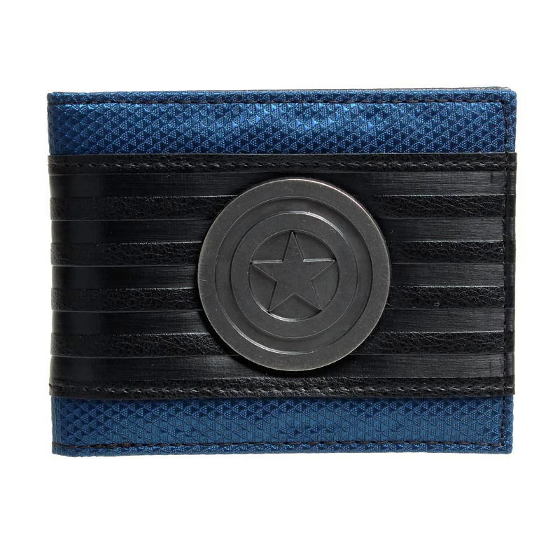 Captain America Wallet Fashionable High Quality Men's Wallets Designer New Purse Dft1413