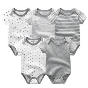 Image 5 - 2020 yaz bebek giysileri seti Unisex kısa kollu yenidoğan bebek Bodysuits ve bebek pantolon pamuk 3 12M bebek giyim