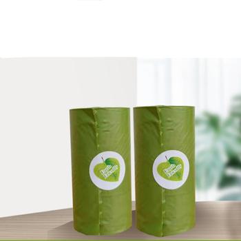 C torba na odchody psa biodegradowalne worki na nieczystości zwierzęce ochrona środowiska Pet Trash ekologiczna torba na kupę tanie i dobre opinie Pooper Scoopers i Torby CN (pochodzenie) Extended size 22 cm* 30cm Shit bag Waste bag green 1Roll size 3 *6 cm 15 Pcs per roll