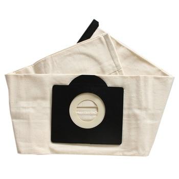XMX-2 Pcs Washable Filter Bags for Karcher WD3 Rremium WD3200 SE4001 WD3300 Wd2 SE 4000 MV3 Vacuum Cleaner Bag цена 2017