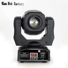 60W spot led moving head gobo lights with DMX control for projector dj stage lighting цены онлайн