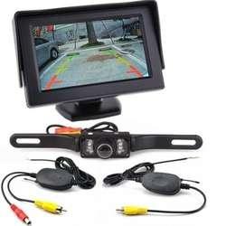 Беспроводной набор 4,3-дюймовый дисплей + беспроводная камера заднего вида изображения PZ703413-W