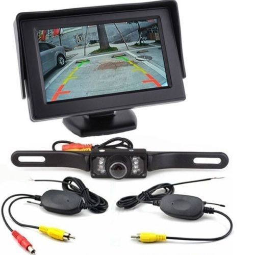Wireless Set 4.3-Inch Display + Wireless Camera Rear View Image PZ703413-W