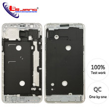 Original Front Frame Housing For Samsung J7 2016 J710F J7108 LCD Panel Middle Bezel Case & Buttons + Adhesive