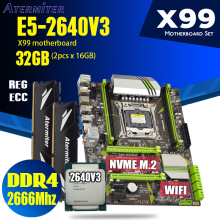 DDR4 Xeon E5 2666mhz Atermiter X99 2640 V3 ECC with 2pcs-X-16gb 32GB Memory PC4 PC4