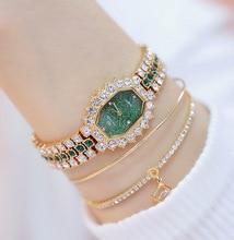 Watches Womens 2020 Top Luxury Brand Small Dress Diamond Watch Women Bracelet Rhinestone Wristwatch Women Montre Femme 2019