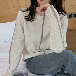 hIgh quality women sweater 100% wool knitted sweater women pullovers long sleeve casual female pullover women jumpers pull femme