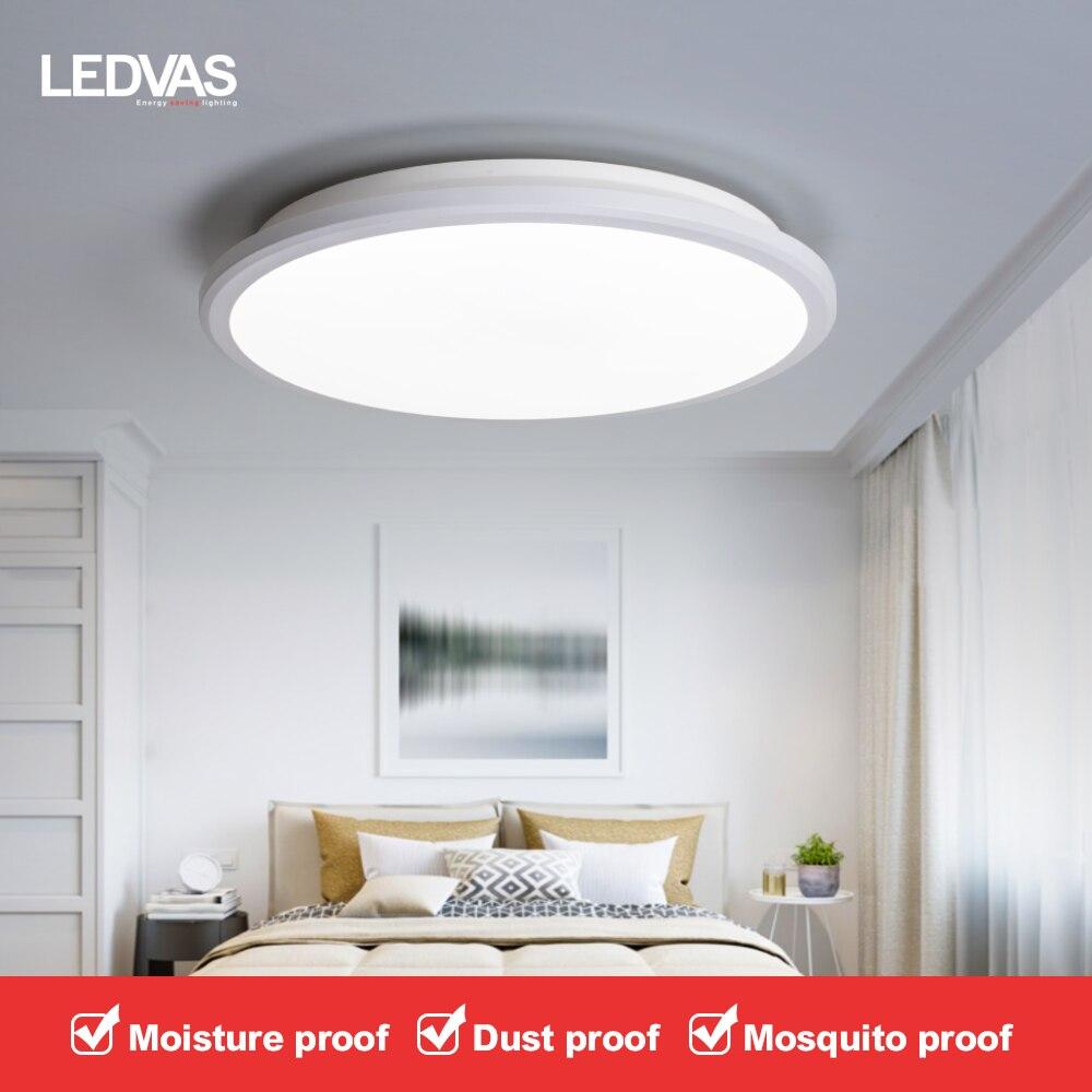 Luz de teto conduzida 6500k luz fria 2 anos de garantia 15w/22w/28w apropriado para o quarto, lâmpada de cozinha, luz do corredor, lâmpada de varanda