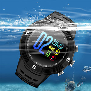 Image 5 - F18 Outdoor GPS Positioning Sports Smartwatch IP68 waterproof compass watch Call Message Reminder Heart Rate BT 4.2 Smart Watch