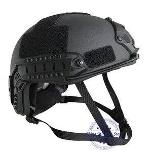 Image 3 - NIJ IIIA Aramid Military FAST Ballistic Combat Helmet US Standard For Police Guard Safety Protection Training