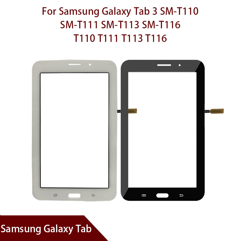 For Samsung Galaxy Tab 3 SM-T110 SM-T111 SM-T113 SM-T116 SM-T114 T110 T111 T113 T116 T114 Digitizer Sensor Glass Free Shipping