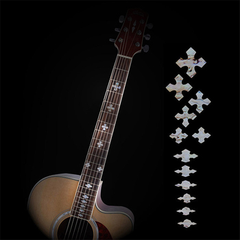 Acoustic Electric Guitar Bass Inlay Sticker Fretboard Marker Fret Decal Guitar Neck Decal Guitar Decoration Accessories high quality guitar fretboard markers inlay sticker decals star shape for electric acoustic classical guitar bass ukulele