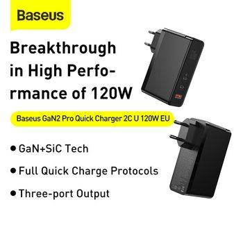 Зарядное устройство Baseus 120 Вт GaN 2
