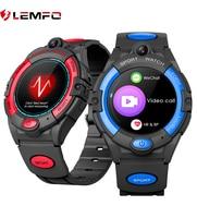 LEMFO Kids Smart Watch 4G GPS WIFI Smartwatch per bambini Android IOS 680Mah batteria grande usa Sim Card