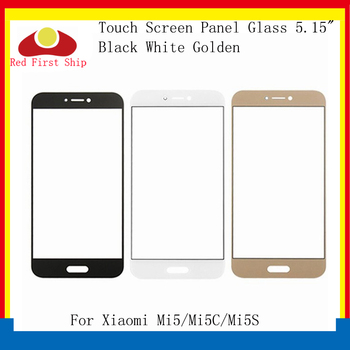 10Pcs/lot Touch Screen For Xiaomi Mi5 MI 5 5C 5S Touch Panel Front Outer LCD Glass Lens For Xiaomi Mi5 MI5S MI5C Touchscreen