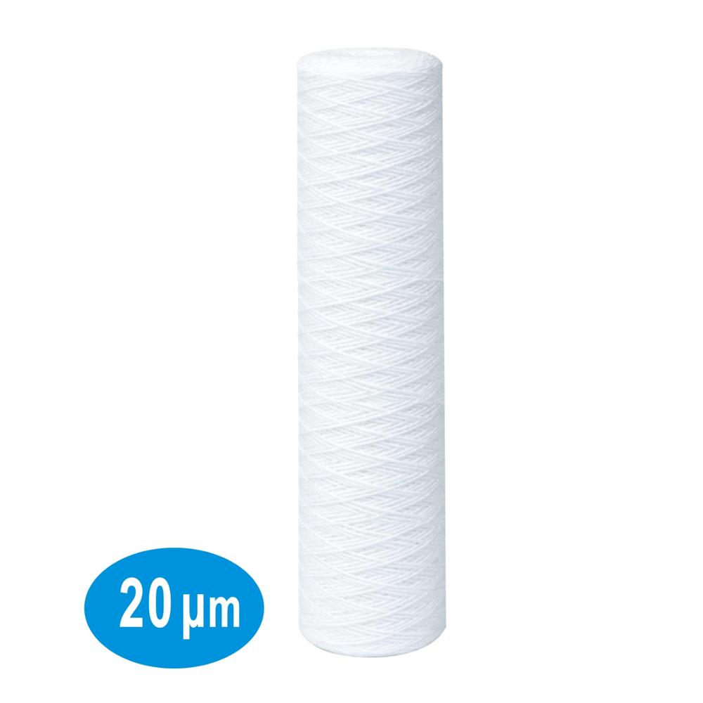 Express Water Whole House Big Blue Water Filter Cartridge 5 Micron Sediment 4.5 x 10-12 Pack
