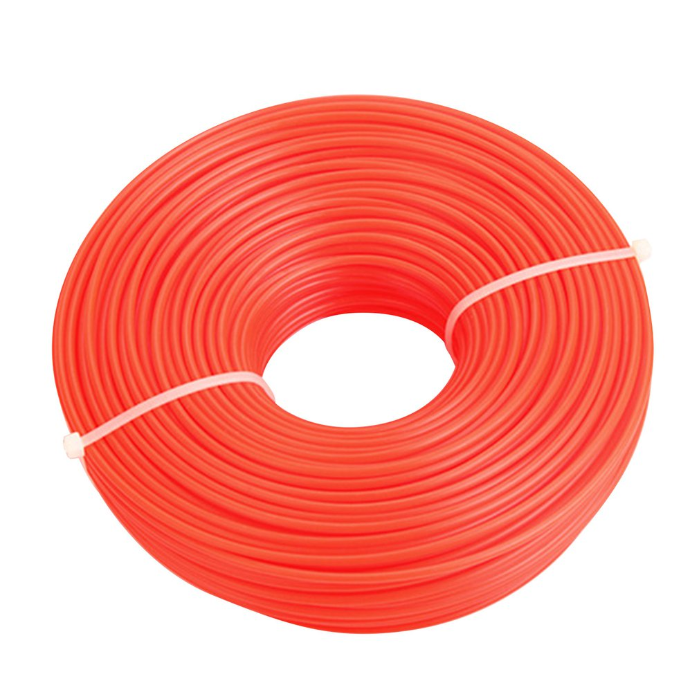 2.4mm/3.0mm Trimmer Line Strimmer Brushcutter Cord Line Long  Roll Square Grass Rope Line For Lawn Mower Trimmer
