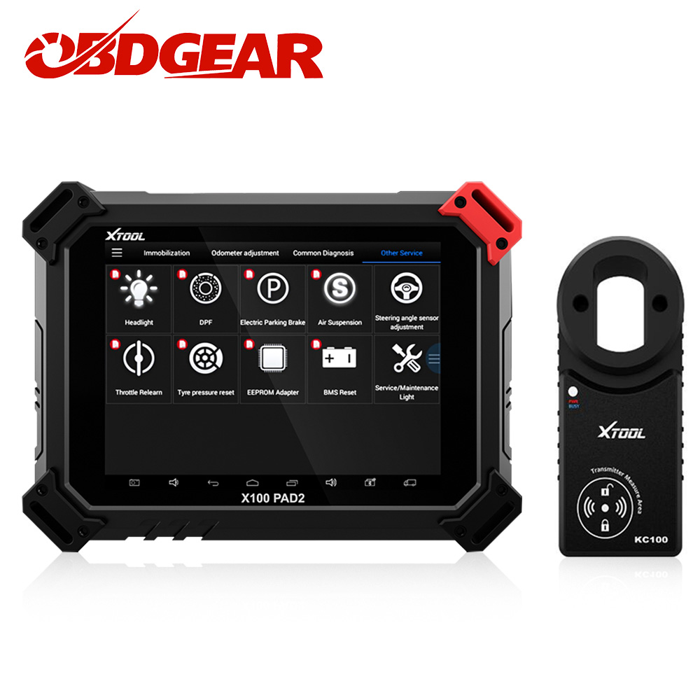 XTOOL X100 Pad2   Pad2 Pro  Full System Auto Diagnostic Tool With Key Programmer For VW 4th 5th Immobilizer Odometer Adjutment