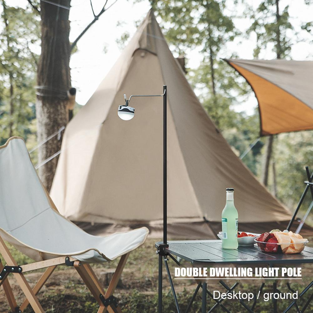 Multifunctional Outdoor Camp Lamp Pole Kit 2