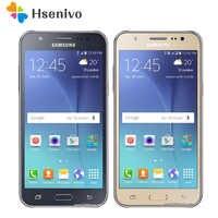 J5 original desbloqueado samsung galaxy j5 j500f j500h 8 gb rom 1.5 gb ram 1080 p 13.0mp câmera 5.0 polegada lte remodelado telefone móvel
