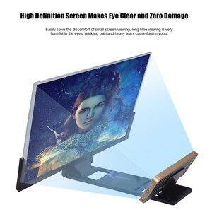 Image 2 - 14 インチ 3D hd 電話スクリーン拡大鏡アンプ映画ビデオ引伸画面 DU55