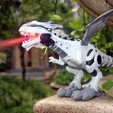 Model Robot Spray Mechanical-Dinosaurs Kids Toys Pterosaurs Animal Electronic Large Walking