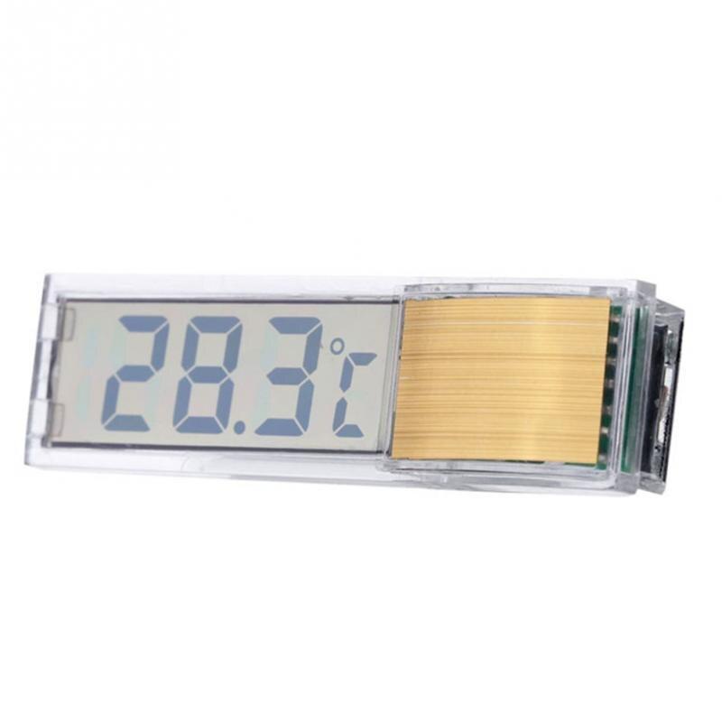 Plastic Metal Aquarium Thermometer Fish Tank Temp Meter 3D Digital Electronic Thermometer Pet Products