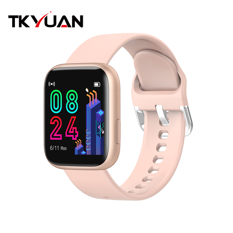 Smart watch sports TKYUAN P4, water resistant, control, sleep, heart rate Pink