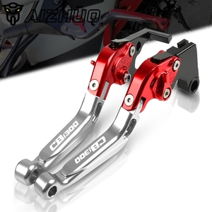 Image 1 - Motorrad CB 1300 CNC Aluminium Folding Erweiterbar Einstellbare Zubehör Kupplung Bremshebel FÜR HONDA CB1300 ABS 2003 2010 2009