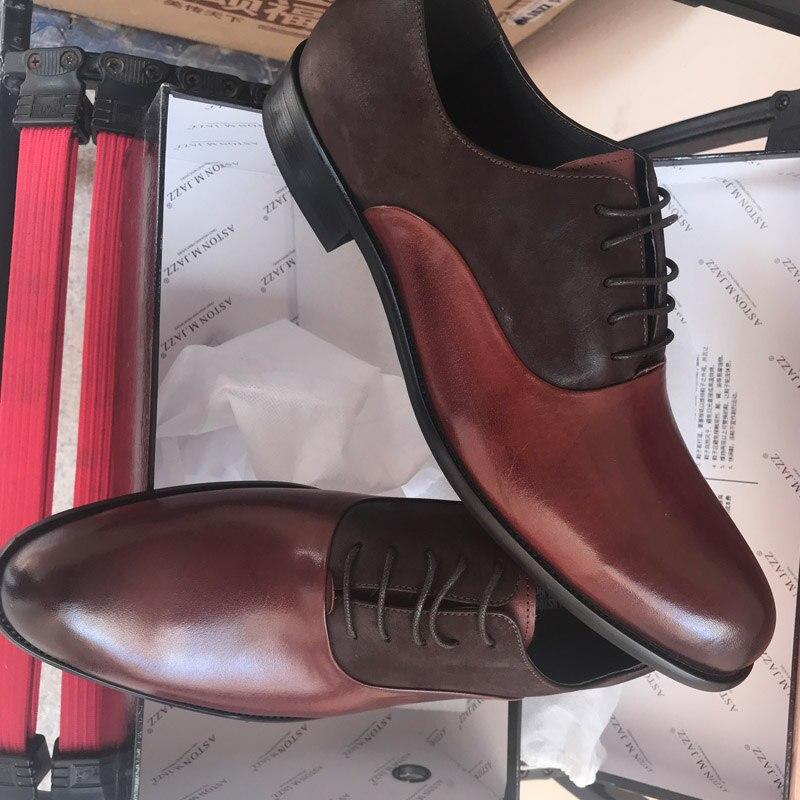 vestido de negócios oxford sapatos de casamento eua 11.5