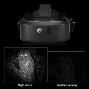 Image 5 - ראש הר ראיית לילה היקף דיגיטלי לילה ראיית משקפת 60M בחושך קרוב אינפרא אדום הפנס ציד