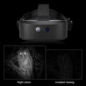 Image 5 - Head Mount Night Vision Scope Digital Night vision Binocular 60M In Dark Near infrared Illuminator for Night Hunting