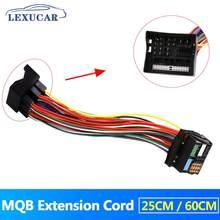MQB 52 Pin Atualização Extension Cord Cabo Adaptador Para Audi A4 A6 Skoda DO ASSENTO Quadlock BMW VW Golf VI Jetta 5 6 MK5 MK6 Passat B6