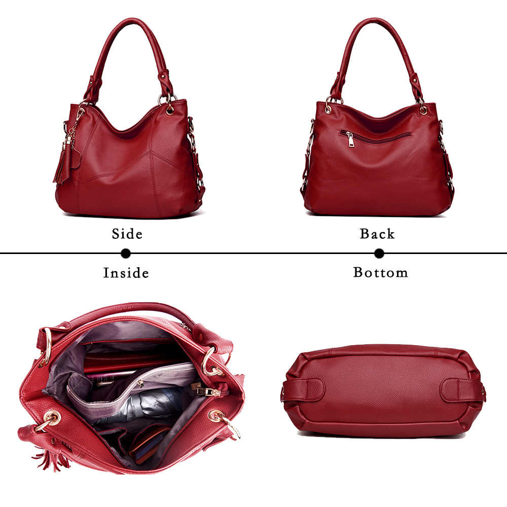 Lanzhixin kadın postacı çantası kadın deri çantalar tasarımcı Crossbody çanta Tote omuz çantaları Bolsas Feminina en saplı çanta