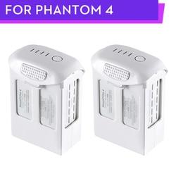 100% Phantom 4 Series 5350mAh Battery DJI P4 Advanced Professional + Flight Intelligent Batteries 2PCS Original Brand Wholesale