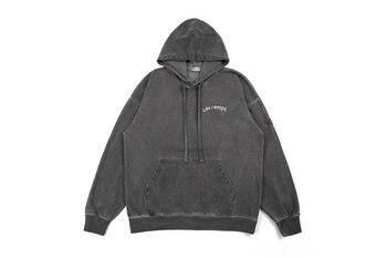 2019 Cav Empt Hands Printed Logo Patched Women Men Hoodies Sweatshirt Men Streetwear Distressed Hoodie Pullover