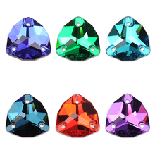 YANRUO 3272 Trilliant AAAAA Glass Rhinestones Sewing Strass DIY Flatback Crystals Sew On Stones For Crafts Decoration
