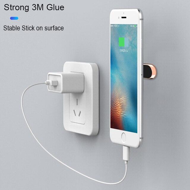 Mini Strip Shape Magnetic Car Phone Holder for iPhone Huawei Samsung Flat Wall Metal Magnetic Car GPS Dashboard Mount Holder 1