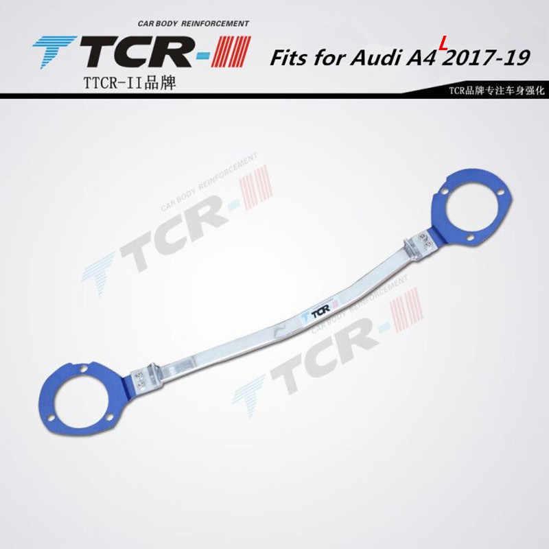 TTCR-II apto para audi a4l 17 + accessorie barra estabilizador koleos tensão haste do motor compartimento de alumínio barra suporte liga magnésio
