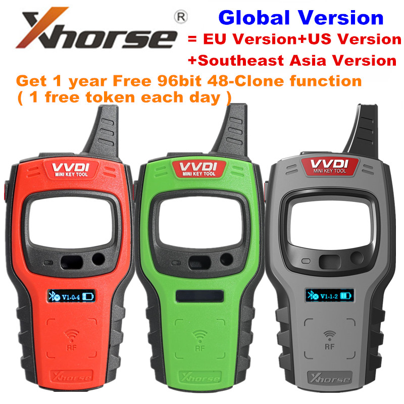 Xhorse VVDI Mini Tool Programmer Support IOS//Android Free 96bit 48 For European