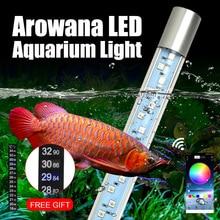 Aquarium Light Arowana Remote-Control Submersible-App 5050 RGB LED Timing for Color-Changing
