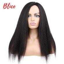 Blice длинные курчавые прямые синтетические волосы парики для