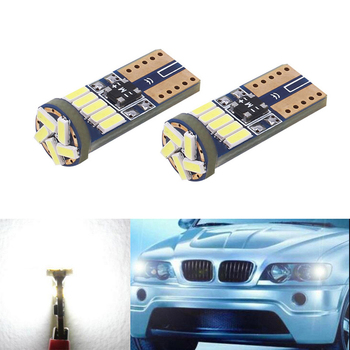 2x Car Wedge Light W5W T10 4014LED Auto Lamp Bulb For BMW E46 E39 E91 E92 E93 E28 E61 F11 E63 E64 E84 E83 F25 E70 E53 E71 E60 image