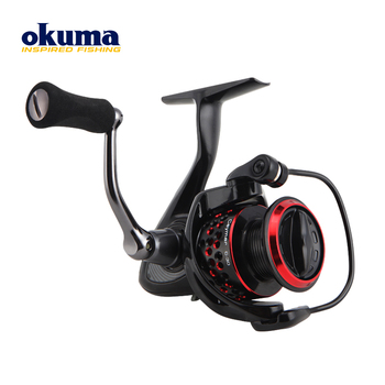 OKUMA Reel Left Right Hand Interchangeable Spinning Reel All Metal Spool Saltewater Carp Fishing Wheel 18KG Max Drag Power Lure