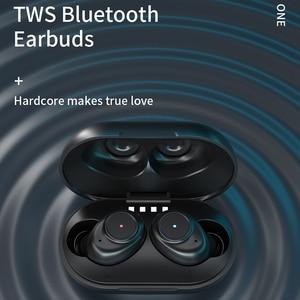 Image 3 - JIMARTI L7 Bluetooth אוזניות סטריאו אלחוטי רעש HIFI צליל ספורט אוזניות דיבורית משחקי אוזניות עם מיקרופון עבור טלפון