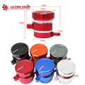 Alconstar-CNC алюминиевый резервуар для мотоцикла  6 цветов  масляная чашка  задний передний тормоз  цилиндр сцепления  жидкость  резервуар для сце...